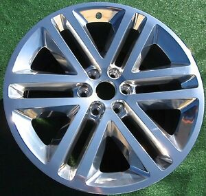 Ford F150 22 Inch Wheels Factory Oem Spec Platinum Expedition New Set 4 Polished