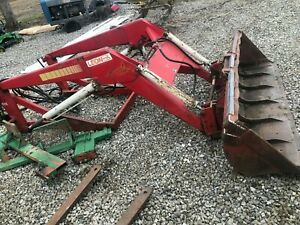 Leon 808 Loader With 8 Bucket And Pallet Forks Heavy Duty Good Condition