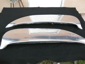 1961 Ford Mercury Skirts Stainless Steel Foxcraft Original Fws 61 Right And Left