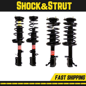 Fits 1998 2000 2001 Chevrolet Prizm Front Rear Suspension Strut Coil Spring