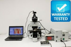 Olympus Bx61 Fluorescence Microscope W Manual Xy Measurement Stage