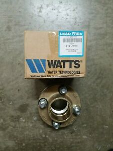 Watts P n 2 1 2 Lf3100 Copper Iron Dielectric Flange With Fip X Solder