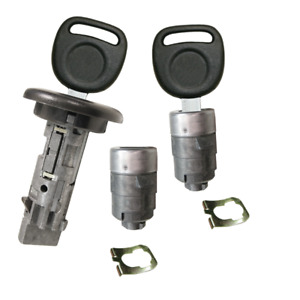 Gm Oem Ignition Key Switch Lock Cylinder Door Lock Tumbler Set 2 Chevy Keys