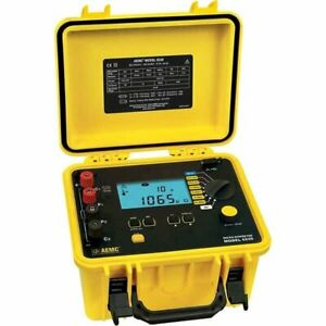 Nist Cal Cert Included For One Aemc 2129 80 Micro ohmmeter Model 6240