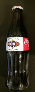 Super Bowl XXXII Commemorative 8oz Coca Cola Bottle