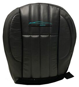 1999 2000 Jeep Grand Cherokee Limited Driver Bottom Vinyl Seat Cover Dk Gray