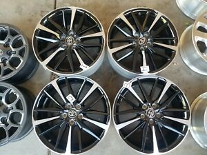 2018 2019 19 Toyota Camry Factory Oem Rims Wheels Set Of 4 Free Shipping