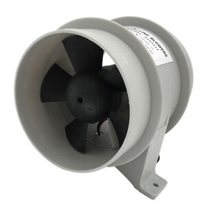 4 Inch Bilge Blower 12v Dc Rule Inline Fan Marine Boat Ventilation