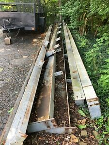 U Pick Structural Steel I beams 29 18 Building Construction Industrial As Is