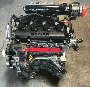 Nissan Altima Qr25 2 5l 4 Cylinders Low Miles Engine For 2002
