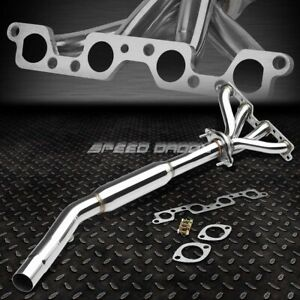 4 1 Racing Header Manifold downpipe Exhaust For 95 99 Dodge plymouth Neon 2 0l