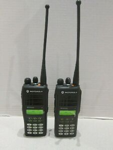 Lot Of 2 Motorola Mtx9250 900mhz Aah25wch4gb6an Police Two Way Radio