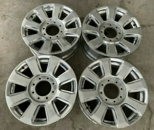 20 Ford Superduty F250 Platinum Oem Factory Stock Wheels Rims Limited Fx4 Xlt