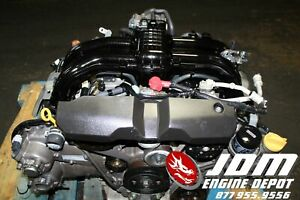 11 15 Subaru Forester Impreza Xv 2 5l 4cam Engine Only Jdm Fb25 Free Shipping