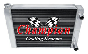 Subzero Champion 3 Row Dual Pass Universal Crossflow 22 Core Radiator un22 dp