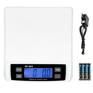 66 Lb X 0 1oz Digital Postal Shipping Scale Weight Postage Battery Ac Adapter