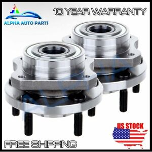 Pair Set For Chrysler Town Country Dodge Caravan Plymouth Front Wheel Bearing
