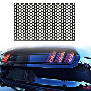 High Quality 3d Carbon Fiber Front Grille Decoration For Honda Civic 2016 2018
