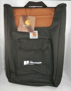 Carhartt Car Organizer Black Backseat Headrest Storage Pocket Water Resist Nwt