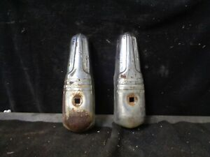 1939 1940 Dodge Front Rear Bumper Guard Pair Used Take Off Cores For Restore