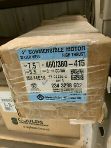 Franklin Electric 2343288602 High Thrust Water Well Motor 4 7 5 Hp 460 380v 3 p