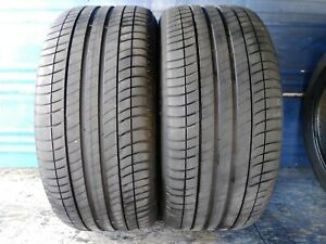 2 Michelin Primacy 3 Zp Rft 275 40 19 Bmw With 6 32nd Tread Left 101 Y