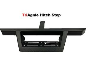 Triangle Hitch Step Universal Rear Bumper Guard 2 Receiver Pin Lock Included
