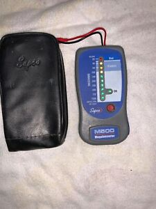 Supco M500 Insulation Tester electronic Megohmmeter With Soft Carrying Case