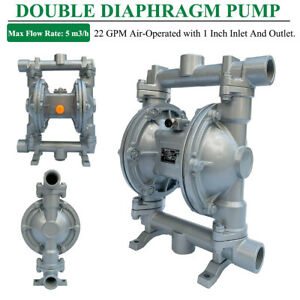 22gpm Double Diaphragm Pump Air operated Membrane Pump 1 inlet And Outlet Port