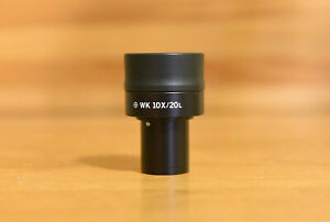 Olympus Japan Microscope Wk 10x 20l Ocular Eyepiece Great Shape