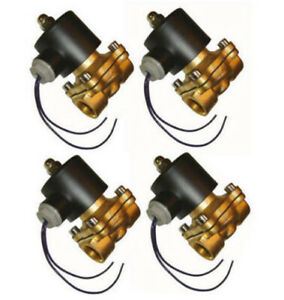 4 Pack 1 2 Electric Air Valve Solenoid For Train Horn Air Suspension System