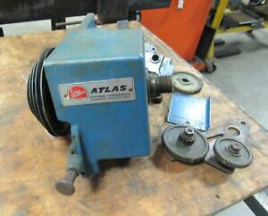 Atlas Lathe Headstock And Parts