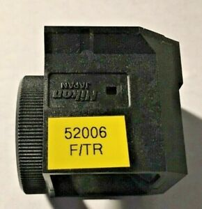 Nikon Fitc Tr Fluorescence Filter For Te Microscopes Missing Exciter