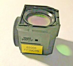 Nikon F tr cy5 Triple Fluorescence Filter For Te Microscopes Missing Exciter