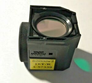 Nikon D f r Triple Fluorescence Filter For Te Microscopes Missing Exciter