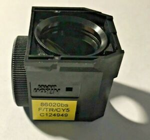 Nikon F tr cy5 Triple Fluorescence Filter For Te Microscopes Dichroic Only