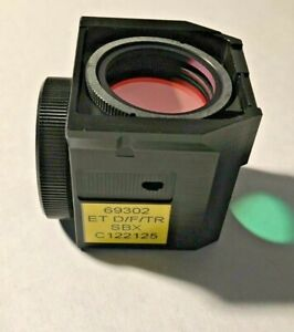 Nikon D f tr Sbx Triple Fluorescence Filter For Te Microscopes Missing Exciter