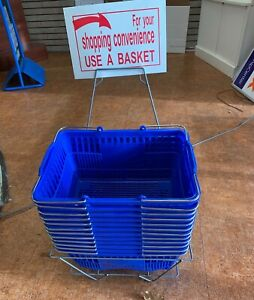 Handheld Shopping Baskets lot Of 12