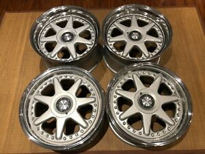 Set Oz Racing 17 Hartmann Motosport Rims 5x112 Audi A4 A3 Vw Super Rare