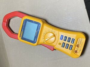 Fluke 355 600v 2000a Ture Rms Dc Ac 58mm Clamp Meter Multimeter W o Accessories