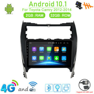 32gb 4g Android 10 1 Car Dvd Player Radio Bt Gps Navi For Toyota Camry 2012 2014