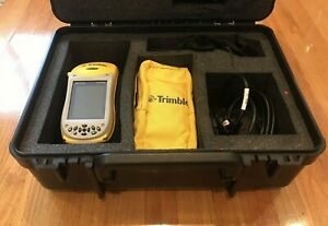 Trimble Geo Xt 2005 Series W Charging Base Case And Cords