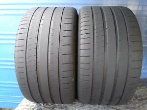 2 Michelin Pilot Super Sport 325 30 Zr21 Bmw With 5 5 32nd Tread Left 108 Y