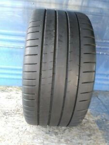 1 Michelin Pilot Super Sport 265 40 Zr18 With 7 5 32nd Tread Left 101 Y