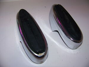 1965 Plymouth Satellite Front Bumper Guards Oem Pair Belvedere