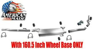 Muffler Exhaust System For Dodge Ram 2500 5 7l 2003 2009 160 5 Inch Wheel Base