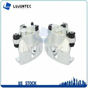 Rear Brake Calipers With Bracket For 1998 2004 Ford F 150 1997 1999 Ford F 250