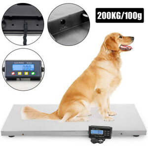 Digital Weigh Packaging Shipping Postal Scale Warehouse 200kg 50g W Lcd Display