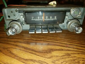 Mopar 1966 1967 Coronet Am Radio Model 232 Tested And Works