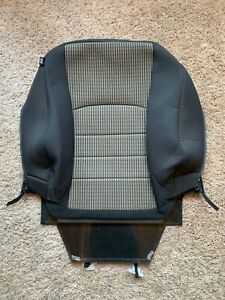 2012 Dodge Ram Express Sport Passenger Lean Back Seat Cover Black Cloth Airbag